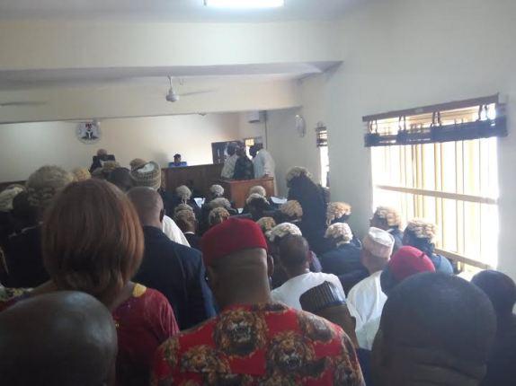 Update:Saraki, Ekweremadu, on court dock for alleged forgery