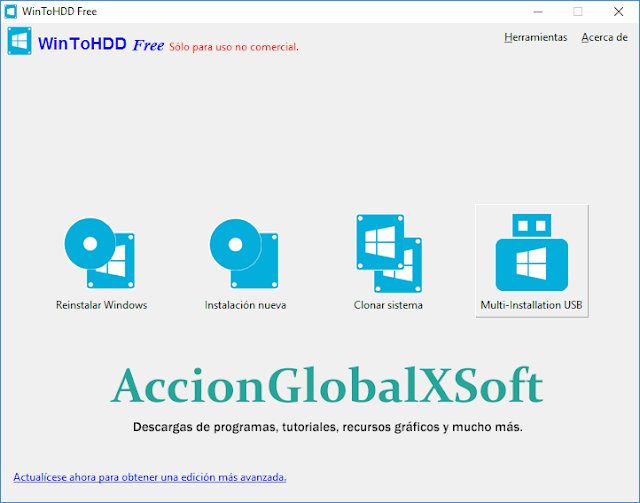 WinToHDD 2.3 | Instalar, reinstalar o clonar Windows sin necesidad de utilizar un CD / DVD o unidad USB