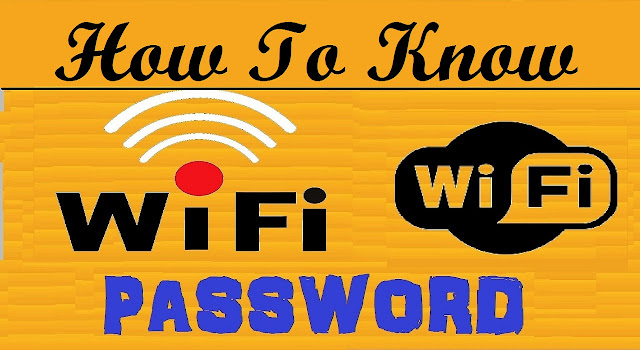 know wifi password in android