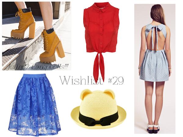 Wishlist #29