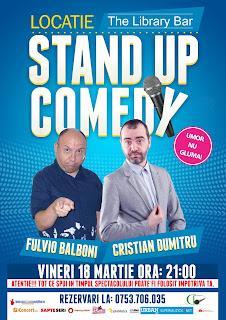 Stand-Up Comedy Vineri 18 Martie Piatra Neamt