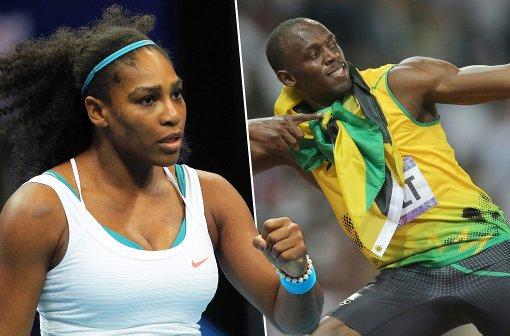 L'Equipe elige a Bolt y Serena como deportistas del año