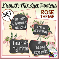 Growth Mindset Rose Set 2