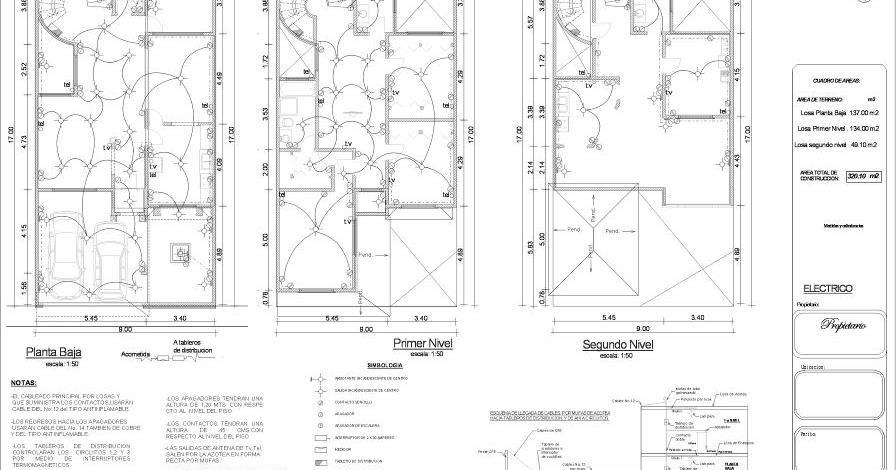 Planos Arquitectonicos SENA: Eléctricos