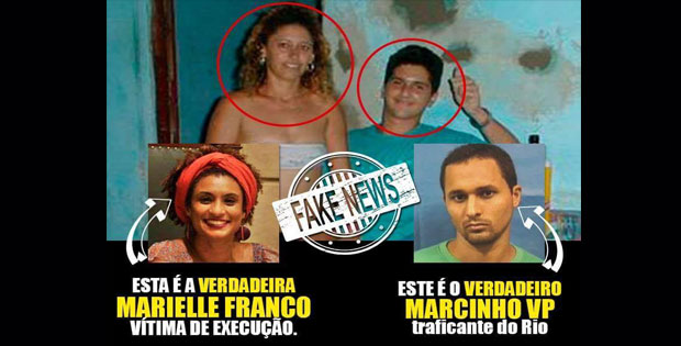 Vereadora Marielle Franco era casada com Marcinho VP, bandido do CV - Falso