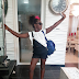 See the hilarious caption Comedian AY made on this photo of his daughter