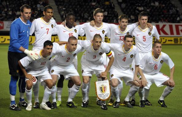 Formación de Bélgica ante Chile, Kirin Cup 2009, 29 de mayo