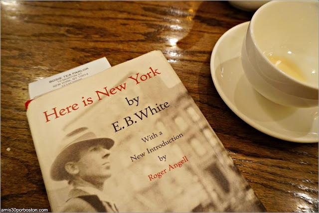 Cuenta del Bosie Tea Parlor en Nueva York