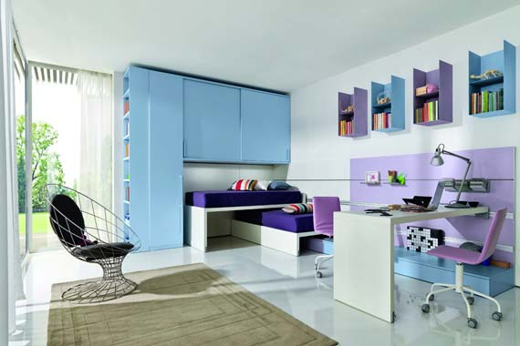 Cottage Blue Designs: Blue And Purple Rooms, Why Not?