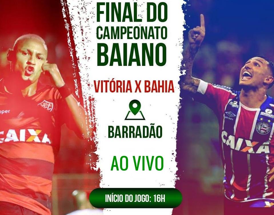 Assistir ao vivo Vitória x Bahia pela final do Campeonato Baiano 1