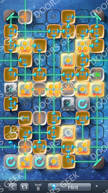 Solution for Laser Box Winter (Royal) Level 8