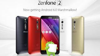 ZenFone 2 Akhirnya Sudah Pakai Android Marshmallow