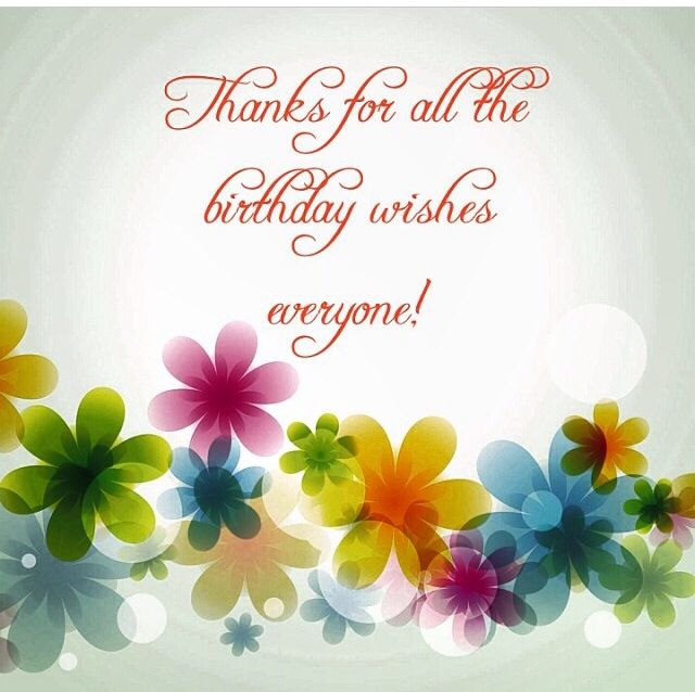 Terrific 170 Thank You For The Birthday Wishes Cards For Facebook 2019 Personalised Birthday Cards Paralily Jamesorg