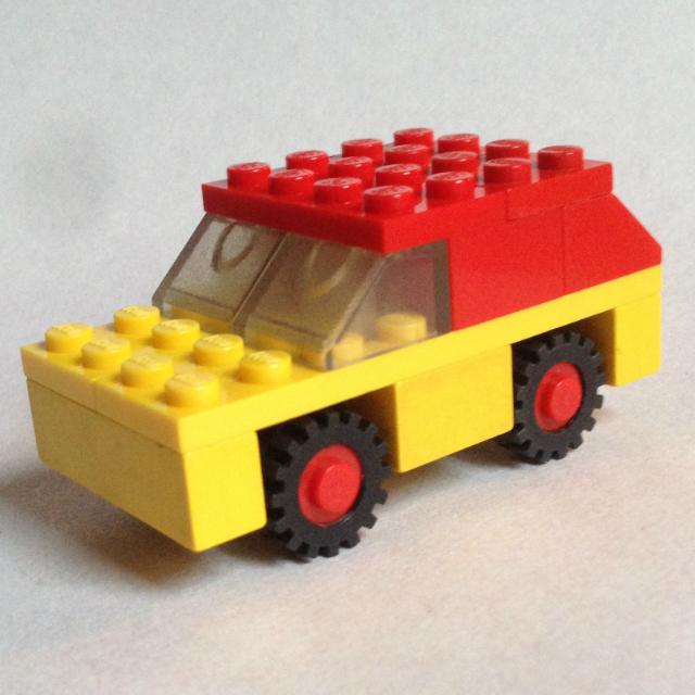 Lego 1606 - terepjáró autó