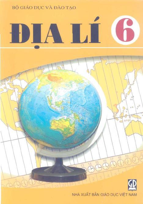 Sách Giáo Khoa Địa Lí Lớp 6