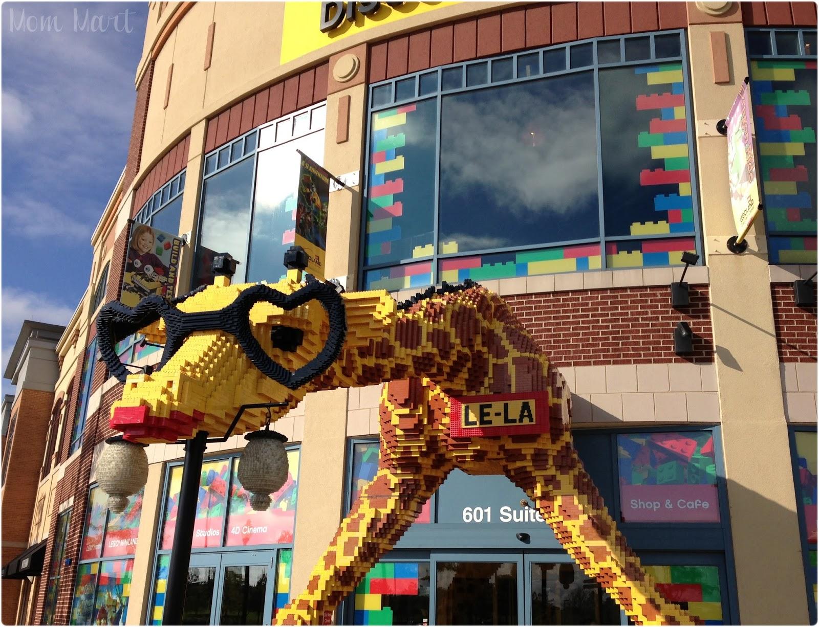 Mom Mart Legoland Discovery Center