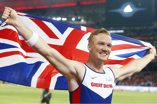 Greg RutherFord Clinches GOLD Medal for Great Britain