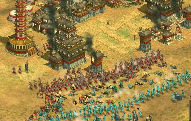Rise of Nations Gold Edition PC Games Gameplay