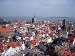 Stralsund - Blick von der Nikolaikirche