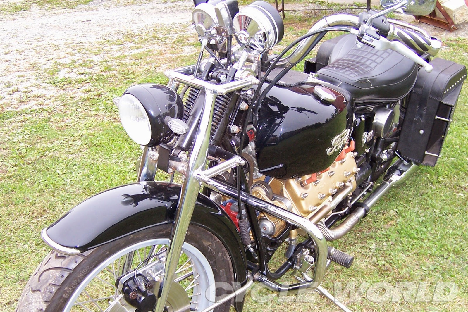 Ford V8 Motorcycle