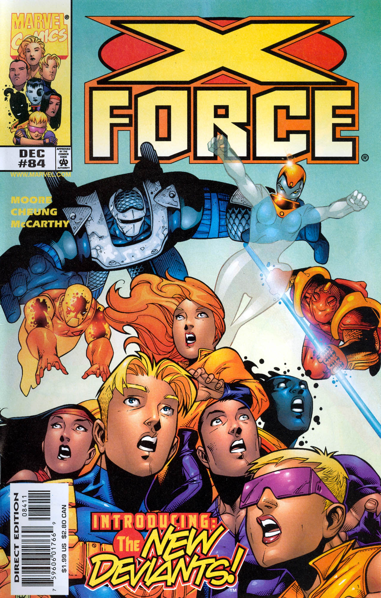 X-Force (1991) 84 Page 1