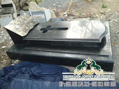 Model Kuburan Katolik Marmer, Makam Kristiani Granit