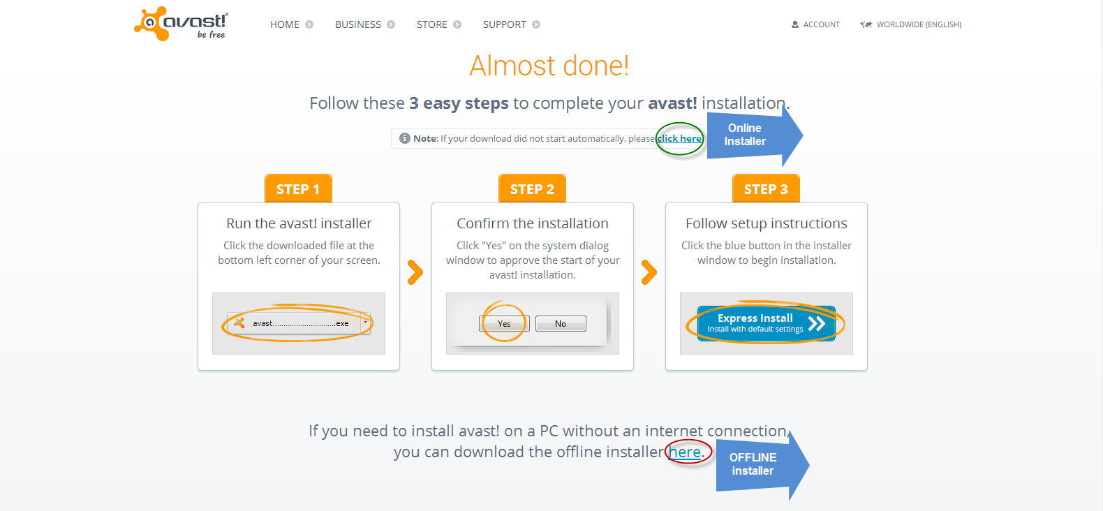 Avast! Antivirus Free Download