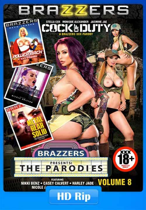 [18+] Brazzzers Presents The Parodies 8 xXx 2017 WebRip 1.2GB Poster