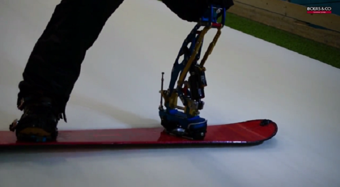 This Bionic Leg Built For Snowboarders Is Straight Out Of