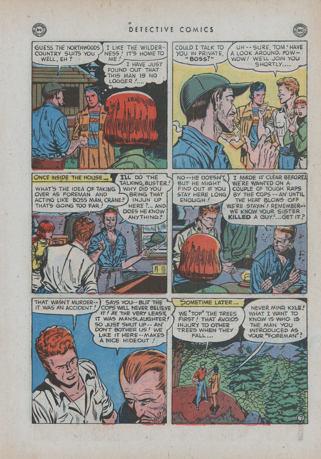 Read online Detective Comics (1937) comic -  Issue #154 - 45