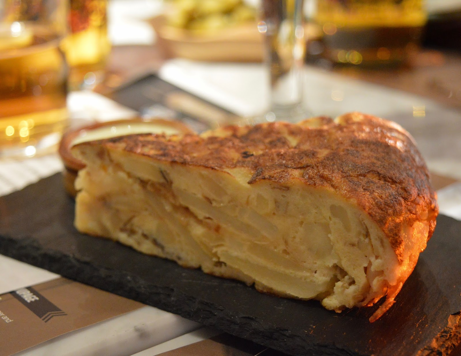 Tapas Revolution Newcastle at intu Eldon Square | Menu Review & Recommendations | Spanish Omelette