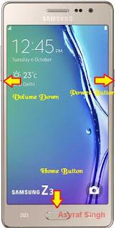 Download mode Samsung GALAXY Z3 (Z300H/DD INDIA)