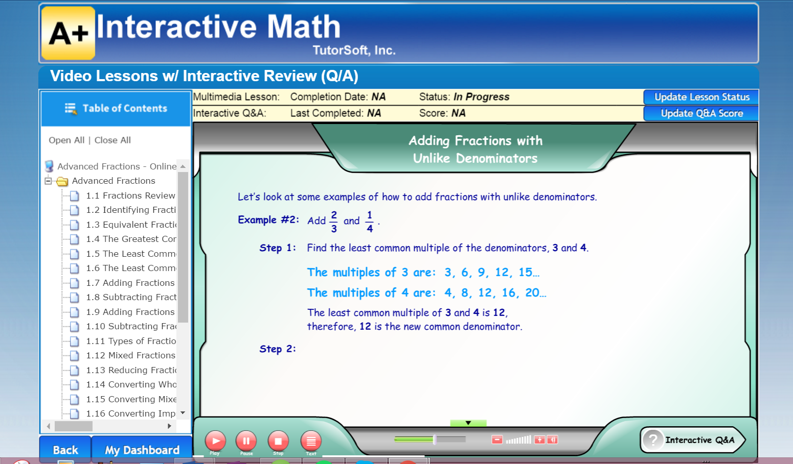 It Covers Adding, Subtracting, Converting, Reducing, And Everything You  Would Expect In '