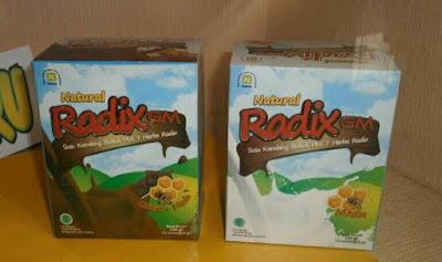 susu kambing radix nasa