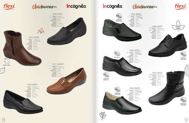 Catalogo de zapato flexi