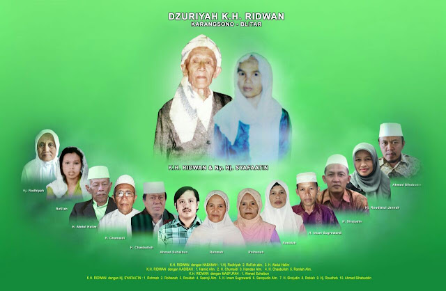 """Guru KH Marzuki Mustamar """"KH Muhammad Ridwan""""  Lautan Ilmu Yang Hidup dalam ke-Tawaddu'an"""