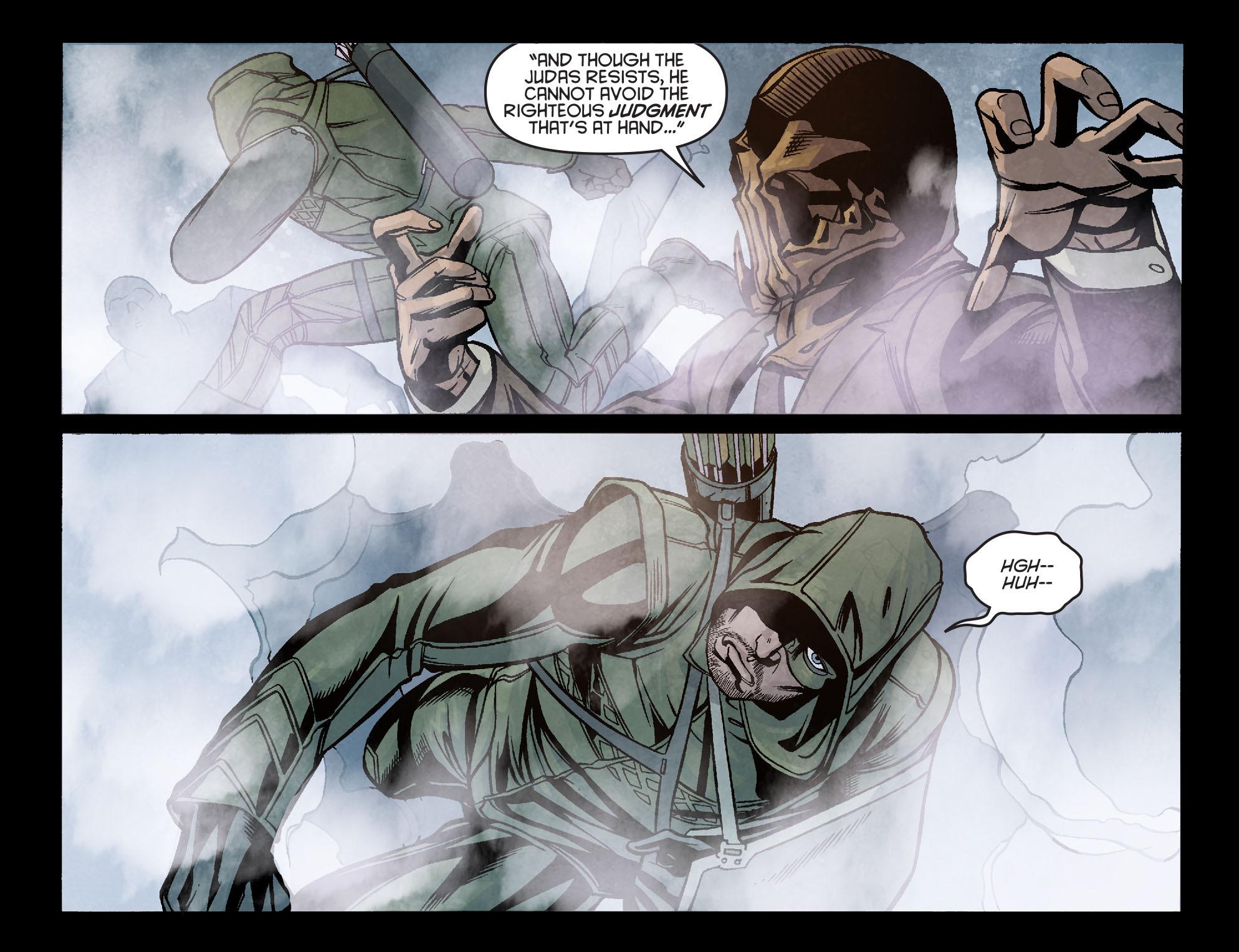 Read online Arrow: Season 2.5 [I] comic -  Issue #6 - 9
