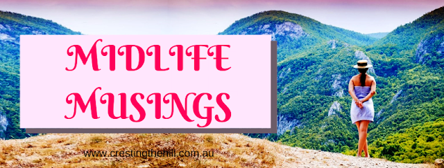 Midlife Musings on Cresting the Hill - a blog for Midlife Women