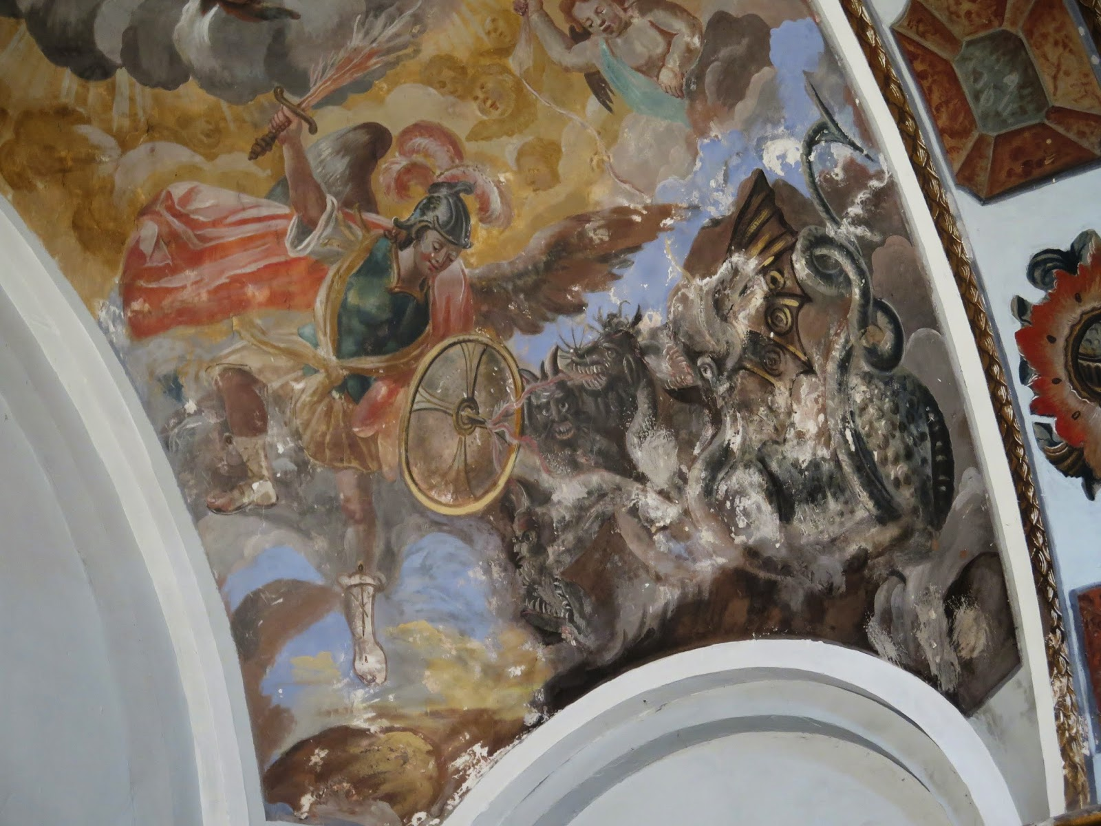 Fresco del infierno, Peñaroya de Tastavins