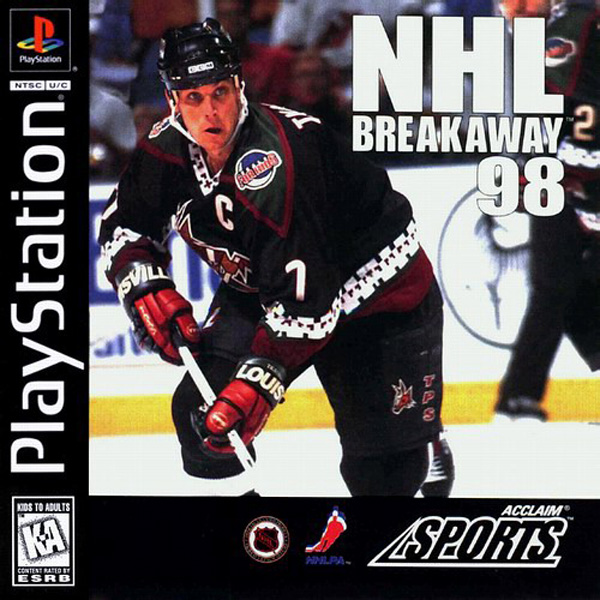 NHL Breakaway 98 - PS1 - ISOs Download