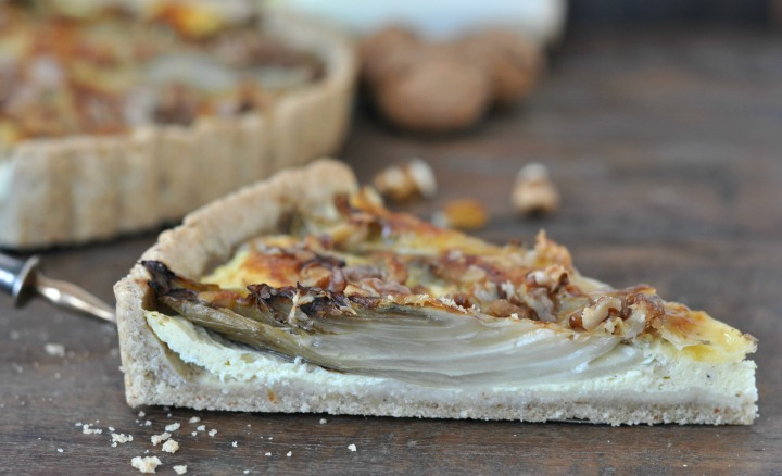 Witloof Quiche, a perfect winter's day lunch - and it's gluten-free, too!