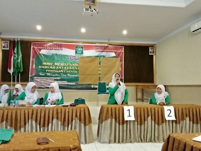 Konfercab PC Fatayat NU IX Amanahkan Miftahrrohmah S.Pd., M.Sc. sebagai Ketua