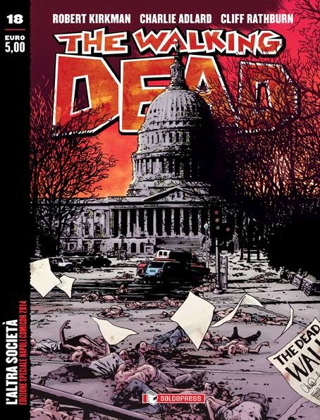 The Walking Dead #18: L'altra società (variant)