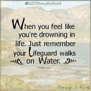when you feel like you 39 re drowning in life just remember