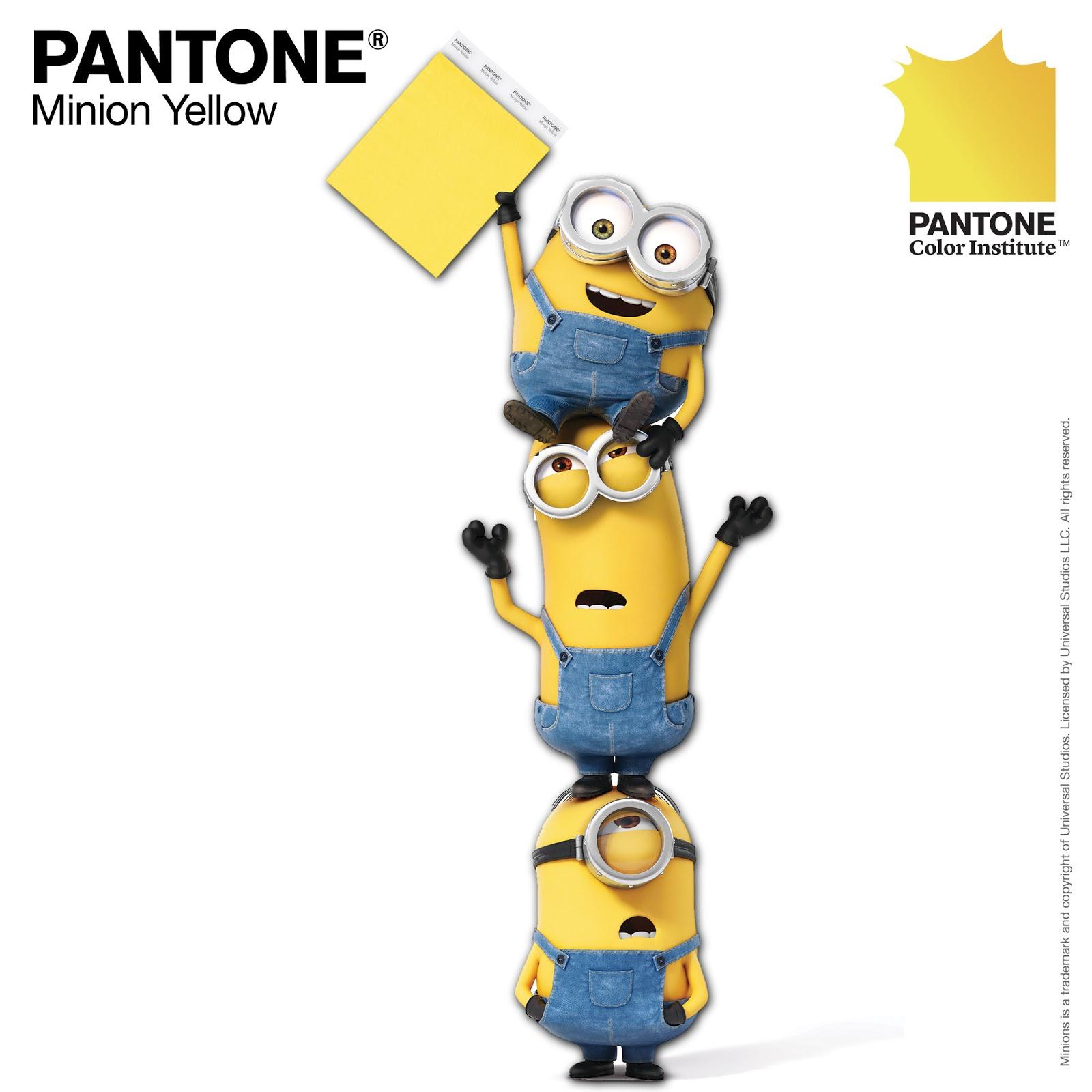 """""""Amarelo Minion"""", inspirado nos personagens Minions"""