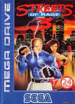 Rom de Streets of Rage 3 - Mega Drive em PT-BR