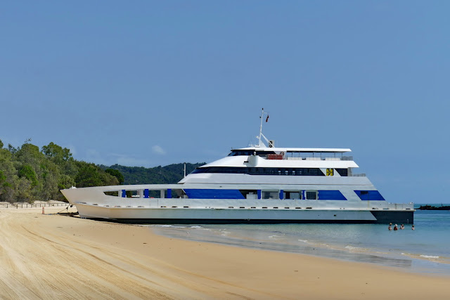 Micat Ferry Fähre Moreton Island Transport Strand Überfahrt Insel