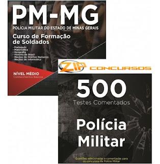 Curso de Formação Testes da Polícia Militar de Minas gerais