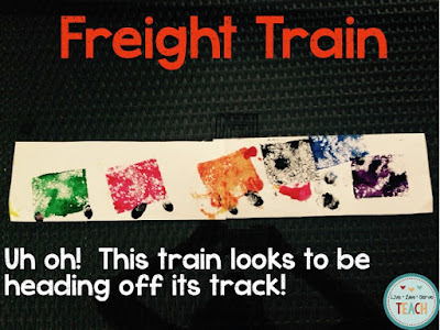 freight train, preschool stories, preschool crafts, donald crews