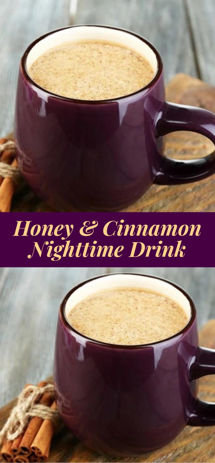 Honey and Cinnamon Nighttime Drink #hotdrink #cinnamon